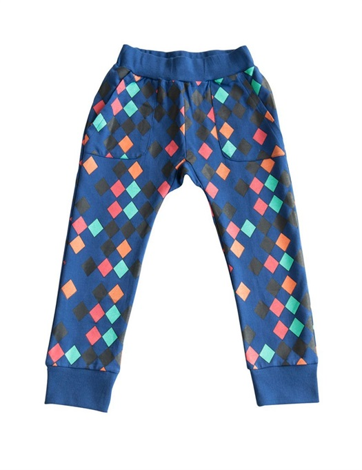 Hang Out Pants Harlequin Blue