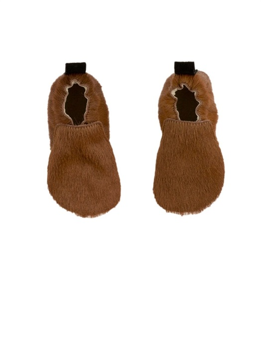 Baby Hairy Mocks Brown / Nude