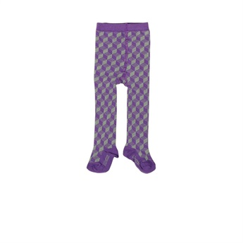 Baby Organic Tights Purple