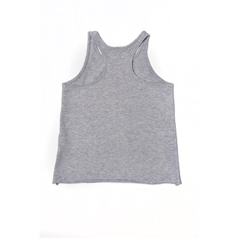 Printed Tank Top Heather Grey