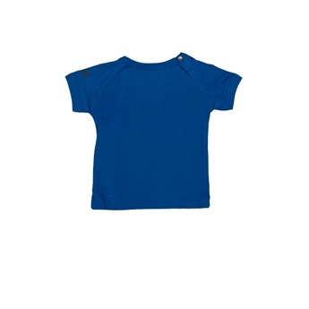 Baby Organic T-Shirt Very Lucky Blue