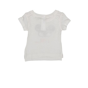 Baby Organic T-Shirt Mask White