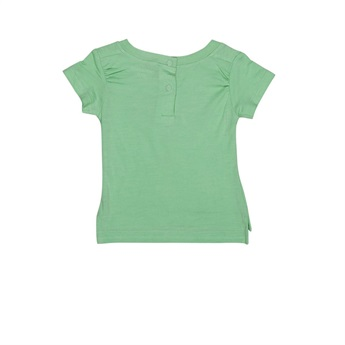Baby Organic T-Shirt Mask Soft Green
