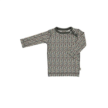 Baby Rock Organic T-Shirt Grey Multi