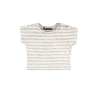 Baby Gorka Striped T-Shirt Natural