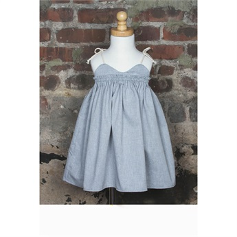 Sand Castle Dress Dove Gray_EXCLUSIVE