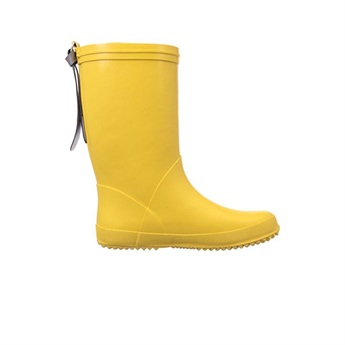 Rubber Boots Yellow Star