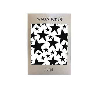 Mini Stars Wallsticker Black