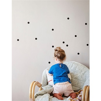 Mini Dots Wallsticker Black