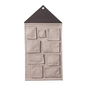 House Wall Storage Grey