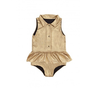 Baby Explorer Bathing Suit Gold
