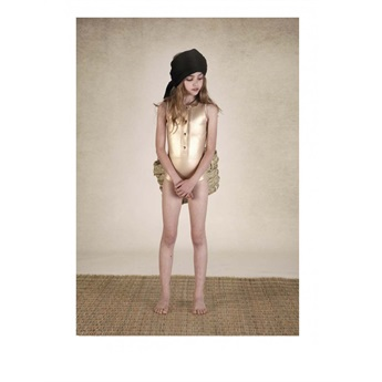 Explorer Bathing Suit Gold