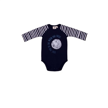 Baby White Stripes Body Suit