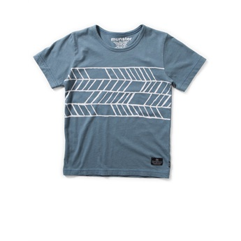 Rhombus T-Shirt Blue