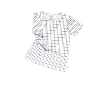 Baby Grid SS Tee Blue