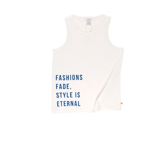 Baby Style is Eternal Tank Top Blue