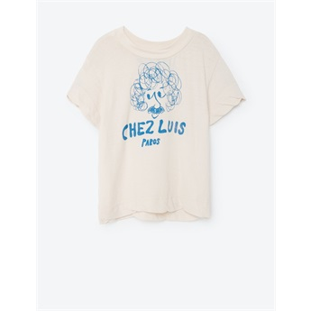 Baby Rooster T-Shirt White Chez Luis