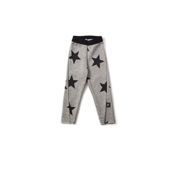 Baby French Terry Engineered Leggings Grey