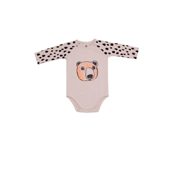 Baby Black Drops Body Suit
