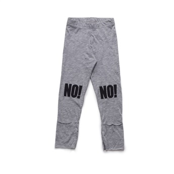 Baby No! Leggings Heather Grey