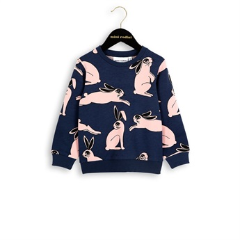 Baby Rabbit Sweatshirt Dark Blue
