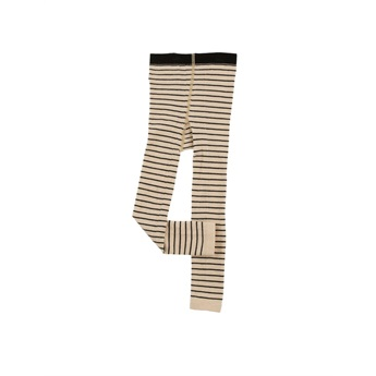 Baby Stripes Leggings Beige / Black