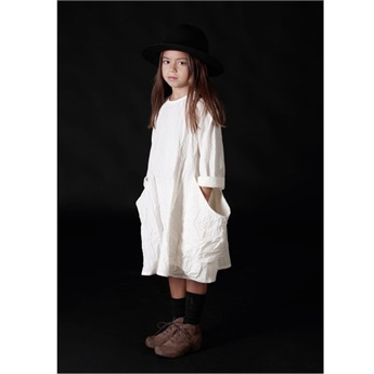 Alma's Pocket Dress Ivory