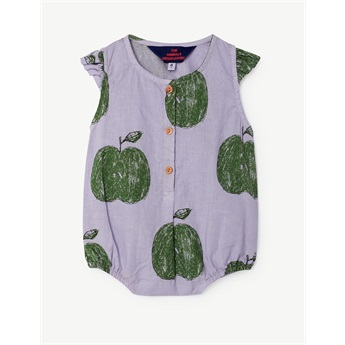 Baby Buttefly Suit Lavand Apples