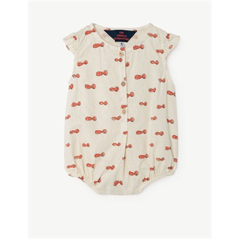 Baby Buttefly Suit Raw White Noseman