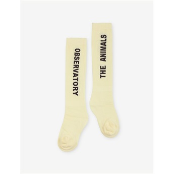 Worm Socks Yellow