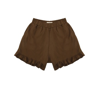Ina Ruffle Shorts Earth