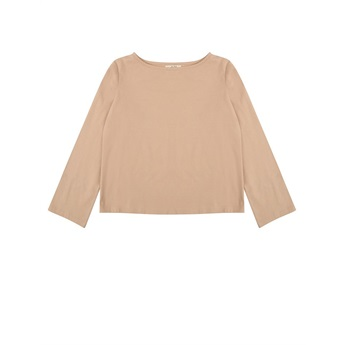 Kobby Boat Neck Top Almond