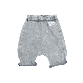 Baby Remo Shorts Light Grey Washed