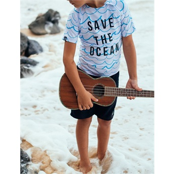UPF50+ Baby T-Shirt Save the Ocean