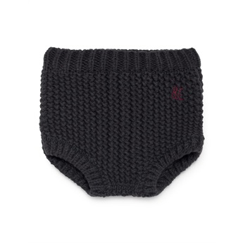 Baby Black Knitted Culotte
