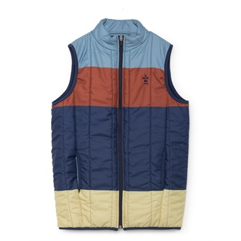 Stripes Padded Vest