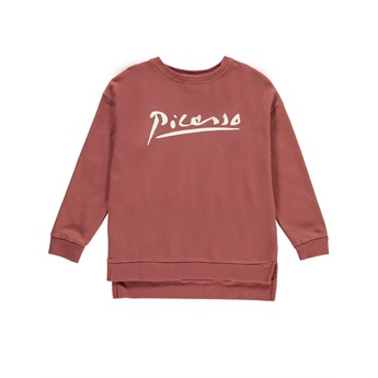 Relaxed Fit Sweater Picasso Berry