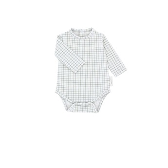 Baby Grid Body Light Grey / Dark Green