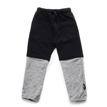 Double Sweatpants Black & Grey