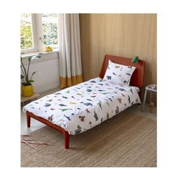Snurk Paper Zoo Bed Set
