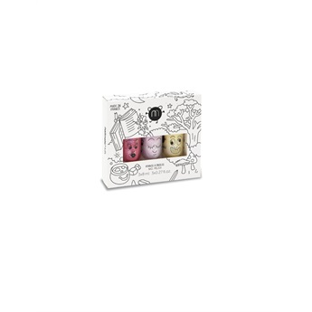 Set of 3 nail polishes – Magic Forest