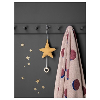 Mini Stars Wallsticker Gold