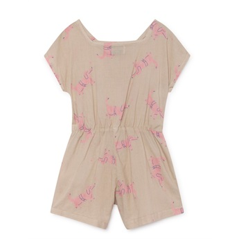 Dogs Sleeveless Playsuit