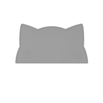 Cat Placemat Grey