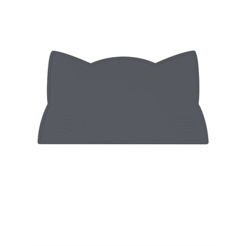 Cat Placemat Charcoal