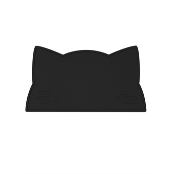Cat Placemat Black