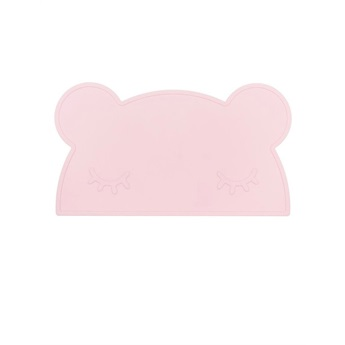 Bear Placemat Powder Pink