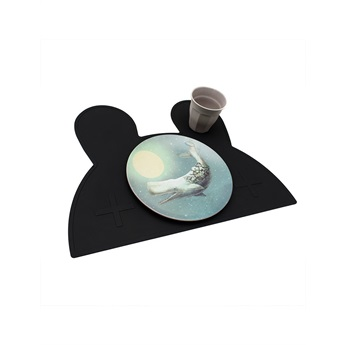 Bunny Placemat Pure Black