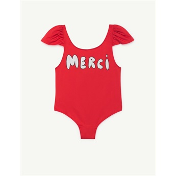 Octapus Swimsuit Red Merci