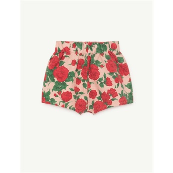 Clam Shorts Nude Roses